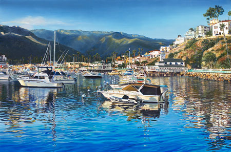 A New Day Avalon. Click here to see enlargement. © Ruth Mayer Fine Art.
