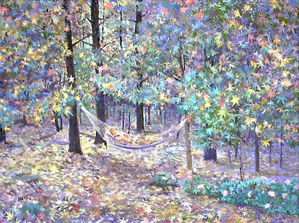 Autumn. Click here to see enlargement. © Ruth Mayer Fine Art.