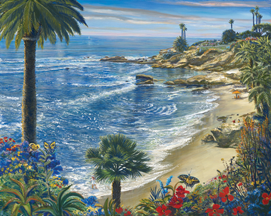 Butterfly Beach. Click here to see enlargement. © Ruth Mayer Fine Art.