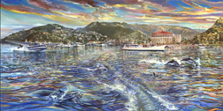 Catalina 1945. Click here to see enlargement. © Ruth Mayer Fine Art.