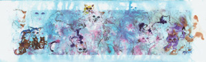 Cats and Things. Click here to see enlargement. © Ruth Mayer Fine Art.