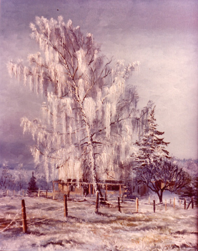 Ice Tree. Click here to see enlargement. © Ruth Mayer Fine Art.