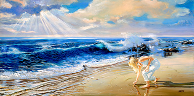 Jewel Of The Sea. Click here to see enlargement. © Ruth Mayer Fine Art.