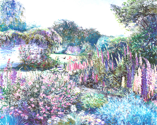 King of My Garden. Click here to see enlargement. © Ruth Mayer Fine Art.