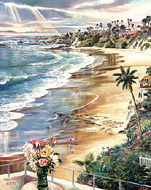 Laguna Romance. Click here to see enlargement. © Ruth Mayer Fine Art.