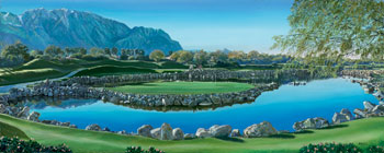 PGA West. Click here to see enlargement. © Ruth Mayer Fine Art.