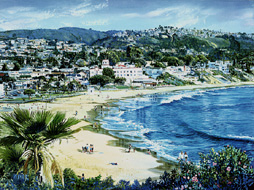 R & R In Laguna. Click here to see enlargement. © Ruth Mayer Fine Art.