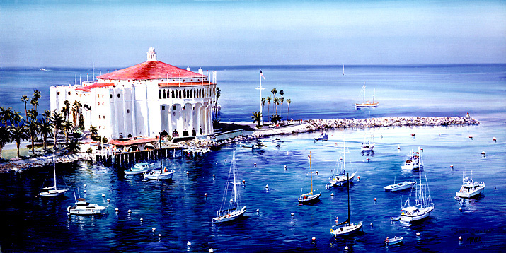 Santa Catalina. Click here to see enlargement. © Ruth Mayer Fine Art.