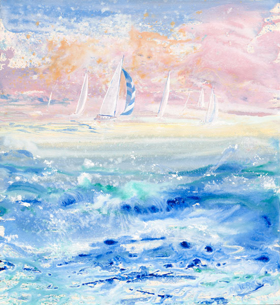 The Love of the Sea. Click here to see enlargement. © Ruth Mayer Fine Art.