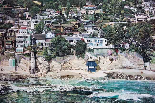Victoria Beach. Click here to see enlargement. © Ruth Mayer Fine Art.
