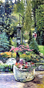 Waterpump. Click here to see enlargement. © Ruth Mayer Fine Art.